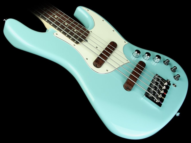 Xotic XJ-1T 5-String Electric Bass Guitar Alder Body Sonic Blue Sonic Blue, Brand New, $3,060.00
