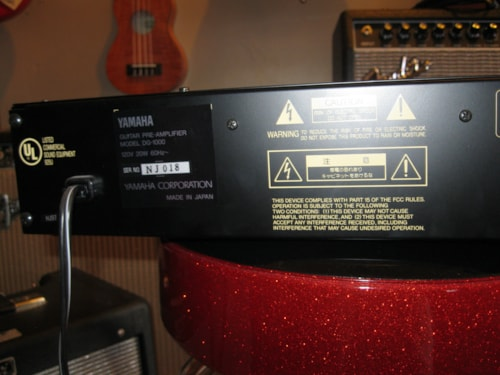 Yamaha DG1000 Guitar Preamp Red, Excellent, $299.00