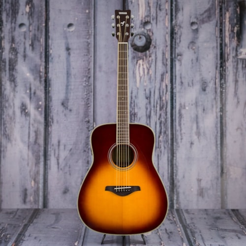 Yamaha FG-TA Acoustic Electric Guitar - Brown Sunburst