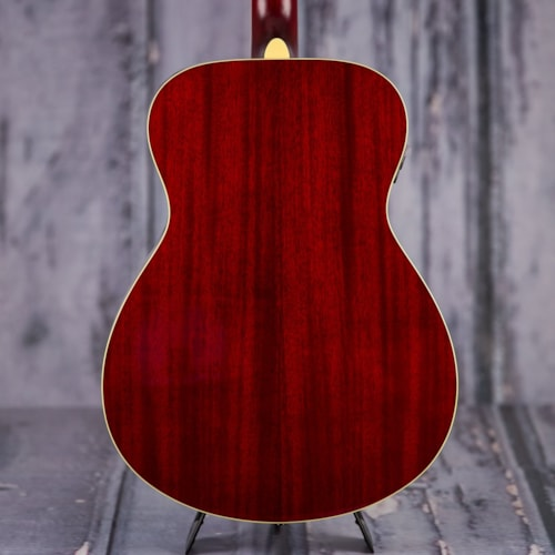 Used Yamaha FS-TA Acoustic Electric Guitar - Ruby Red