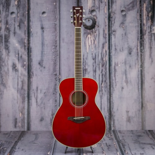 Yamaha FS-TA Acoustic Electric Guitar - Ruby Red Brand New $599.99