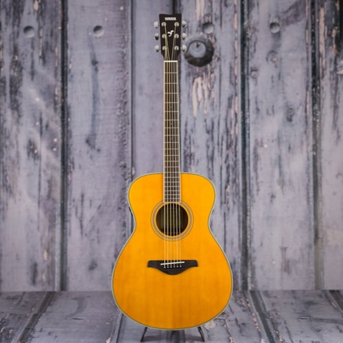 Used Yamaha FS-TA Acoustic Electric Guitar - Vintage Tint
