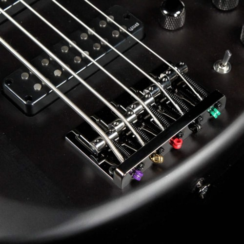 Yamaha TRBX505 5-String Electric Bass Guitar Transparent Black