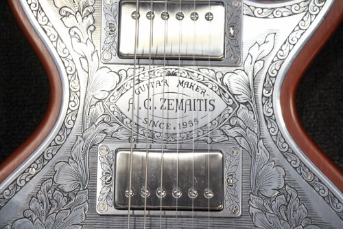 Zemaitis MFJ Mahogany and Aluminum., Near Mint, Hard, $5,895.00
