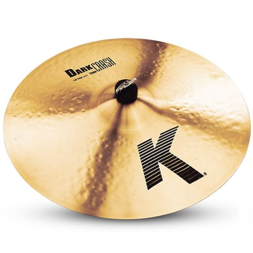 "Zildjian 18"" K Dark Thin Crash Cymbal B-Stock"