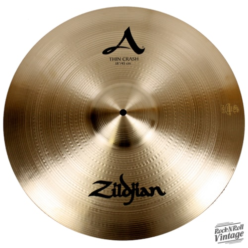 "Zildjian A0225 18"" A Thin Crash NAMM Show Demo Brand New, $189.00"