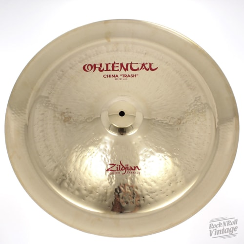 "Zildjian A0620 20"" Oriental China Trash - Show Demo Brand New $239.00"