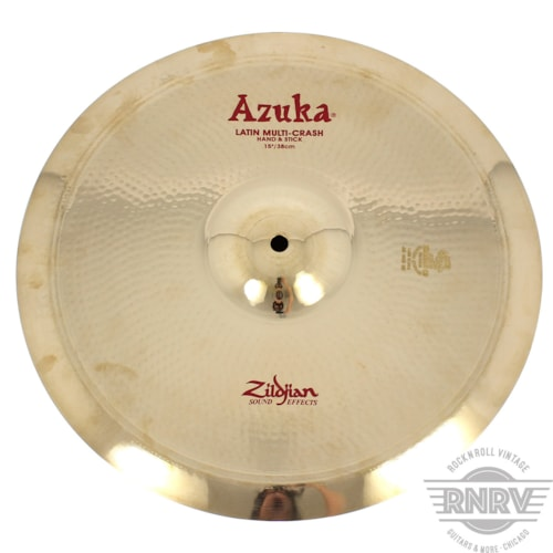 "Zildjian A20015 15"" Azuka Latin Multi Crash - Show Demo Brand New, $159.00"