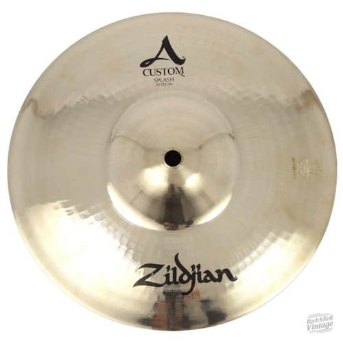 "Zildjian A20542 10"" A Custom Splash - Show Demo Brand New, $109.00"