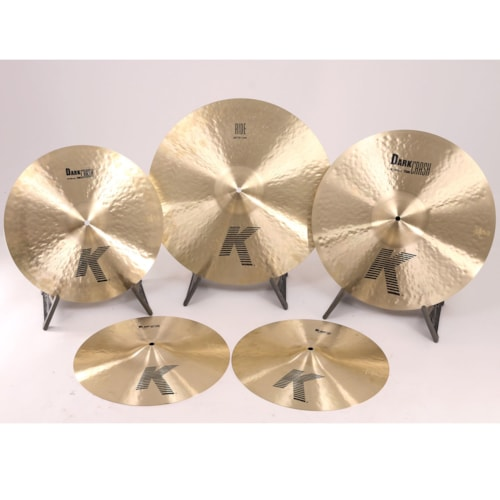 Zildjian K0800 Purdue University Jazz Show Demo Pack 8 Brand New $699.00