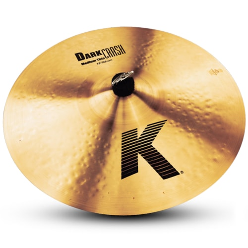 "Zildjian K0915 18"" K Dark Crash Medium Thin Brand New $299.95"