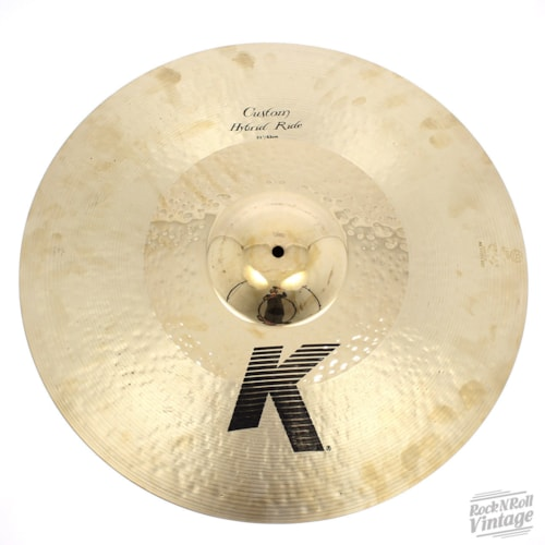 "Zildjian K0999 21"" K Custom Hybrid Ride - Show Demo Brand New $339.00"