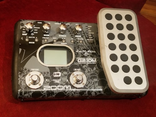 Zoom G2.1DM Dave Mustaine Multi-Effects Pedal