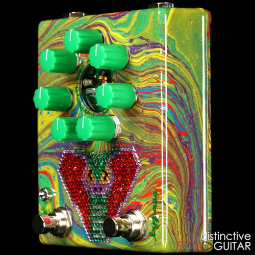 ZVEX Fuzz Factory 7 Custom Custom Painted NAMM, Brand New