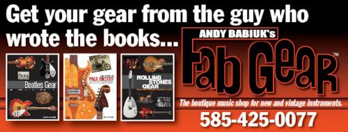 Andy Babiuk's Fab Gear