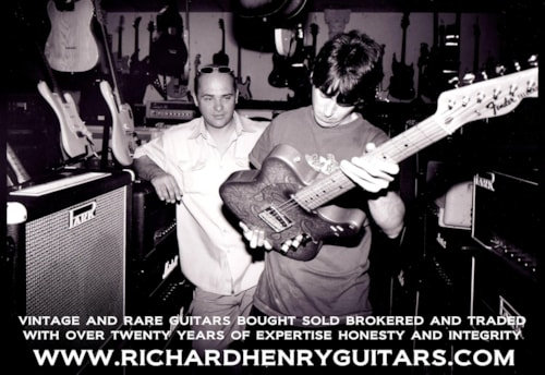 RICHARD HENRY GUITARS