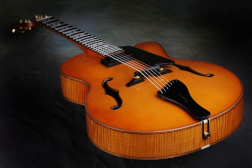 2013 Archtop Display by Nelson Palen Carved solid woods