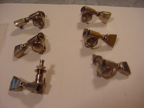 "1980 Grover Tuners/""Silver"""