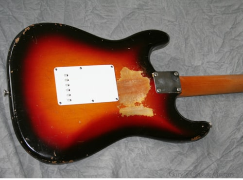 1962 Fender® Stratocaster® Sunburst (#FEE0293)