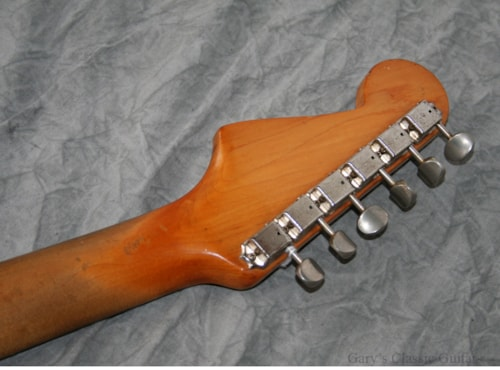 1962 Fender Stratocaster Sunburst (#FEE0293)