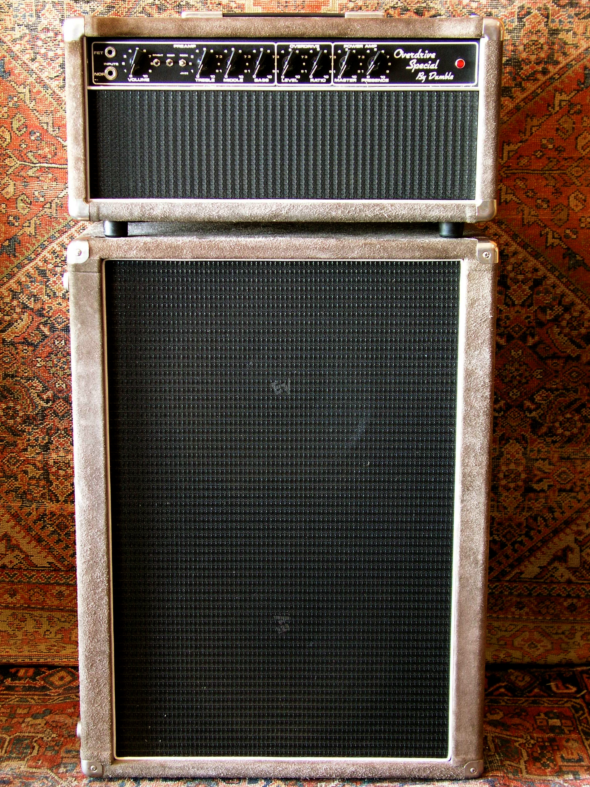 Dumble Speaker Cabinet 1984 Dumble Overdrive Special 2x12 Cabinet Amps Preamps