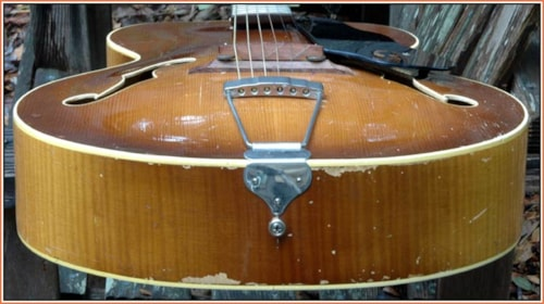 1951 National Model 1140 Archtop Guitar