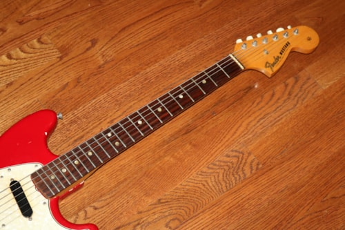 1966 Fender® Mustang® Red (#FEE0464)