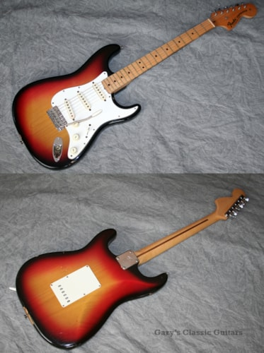 1971 Fender® Stratocaster® Sunburst (#FEE0465)