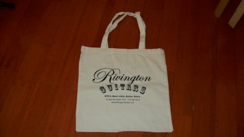 2009 Rivington Guitars TOTE BAGS
