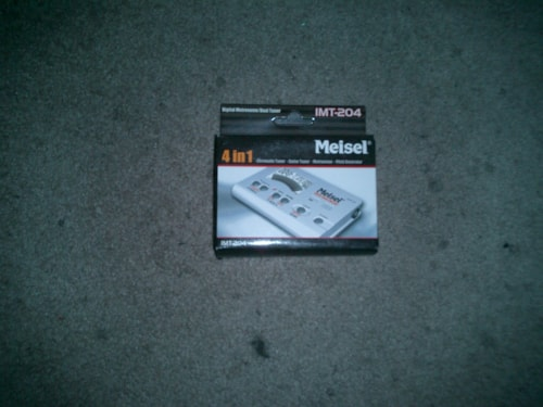 2009  MEISEL NEW 4 in 1 Chromatic and guitar tuners, metronome and tone pitch identifier