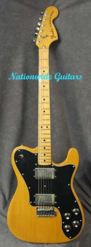 1975 Fender Telecaster Deluxe with FACTORY TREMOLO