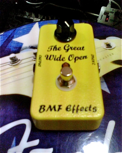 BMF Effects Great Wide Open