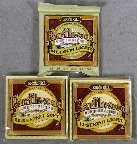 2013 Ernie Ball Acoustic Strings