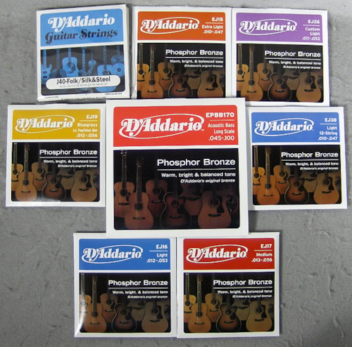 D'Addario Acoustic Strings