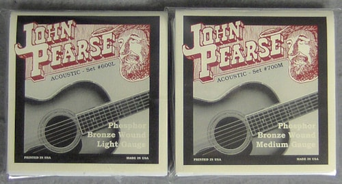 John Pearse Acoustic Strings