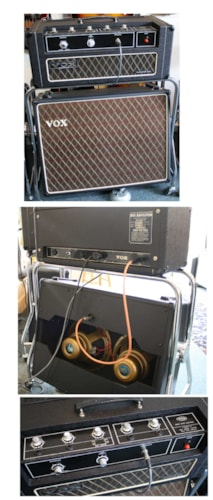 ~1970 Vox Foundation Bass amp & Cab
