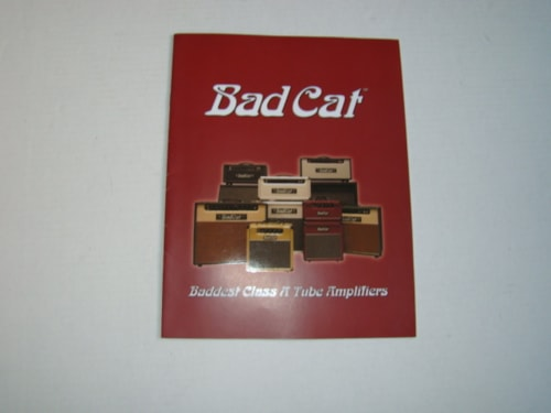 2004 Bad Cat Amp Catalog