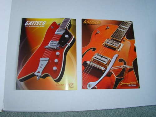 2005 Gretsch New Model Catalogs