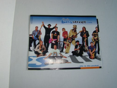 2005 Fender Bass Street Catalog (and Bass History)