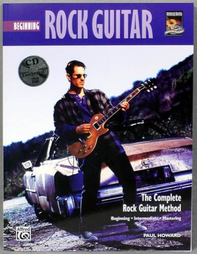 Alfred Publishing Beginning Rock Guitar