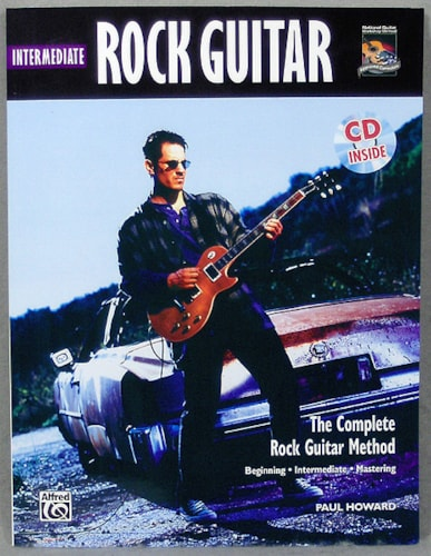 Alfred Publishing Intermediate Rock Guitar