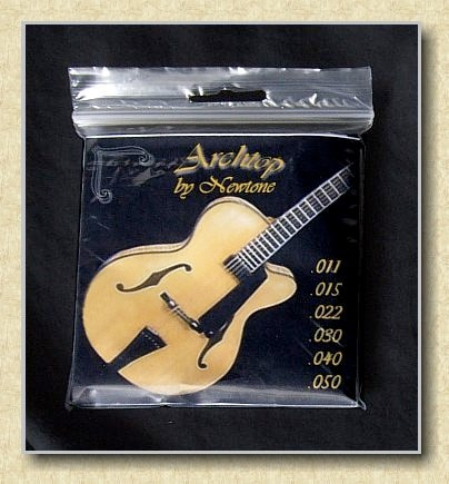 2009 NEWTONE ARCHTOP GUITAR STRINGS JAZZ ROUNDS  LITE   MED-LITE  MEDIUM  HEAVY