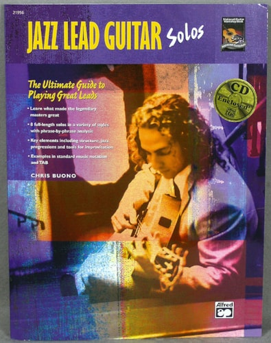 Alfred Publishing Jazz Lead Guitar Solos