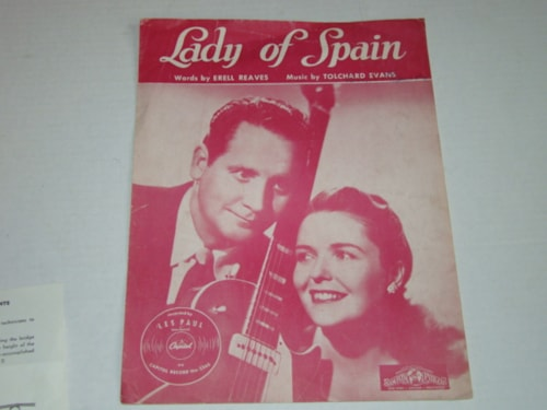 1948 Les Paul Lady of Spain Sheet Music