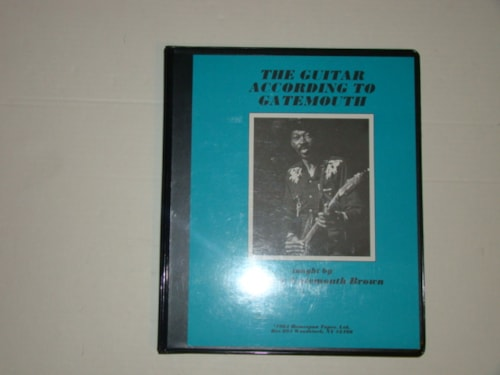 1980 Brown,Clarence Gatemouth Homespun Guitar Method