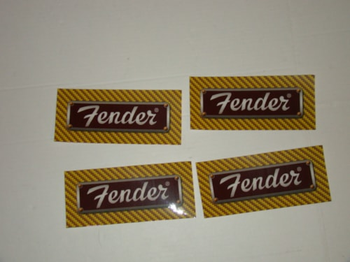 2000 Fender Tweed Decals