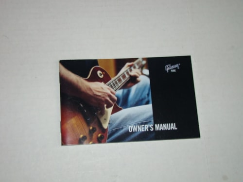 2003 Gibson Guitar Owners Manual