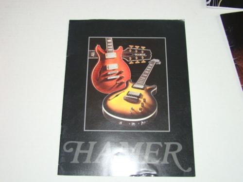 1999 Hamer Catalog (25th Anniversary)