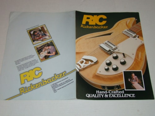 1989 Rickenbacker Guitar Building Promo