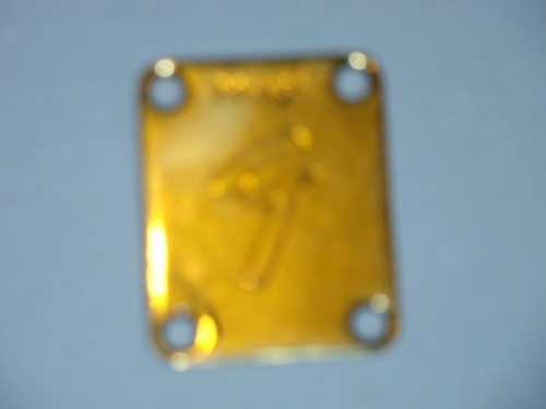 1968 Fender® Tele® Gold Serial Number Plate